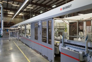 Packrite's Bobst Masterfold 170 high-speed folder-gluer with double Gyrobox feature